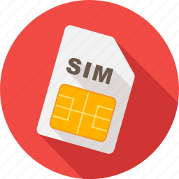 card, communication, gsm, mobile, phone, sim, simcard icon