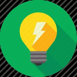 bright, bulb, concept, creativity, discovery, idea, lightbulb icon
