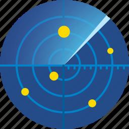 display, map, navigation, radar, scan, scanning icon