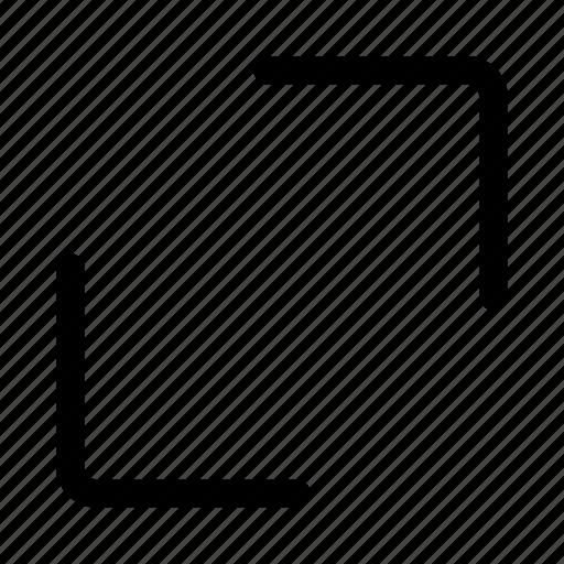 enlarge, expand, full, maximize, resize, screen icon