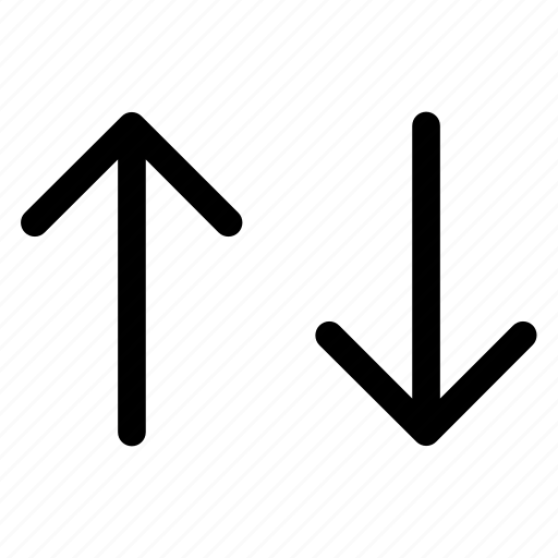 arrow, data, dowm, network, receive, send, up icon