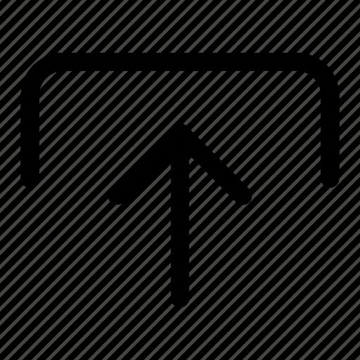 arrow, export, send, transfer, upload icon