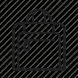 bag, baggage, garment, luggage icon