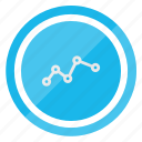 analytics, business, chart, diagram, financial, graph icon
