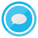 comment, communication, conversation, speech icon