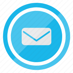 email, envelope, letter, mail, message, post icon
