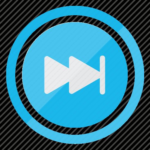 fastforward, media, multimedia, player icon