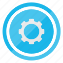 configuration, gear, setting, settings, system, wheel icon
