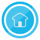 estate, home, house, page, real, return icon