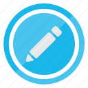 edit, pen, pencil, text, write icon