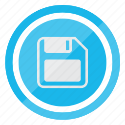 disk, file, format, save, store icon