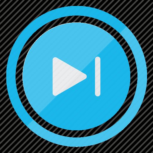 communication, forward, media, media player, multimedia, player, skip icon