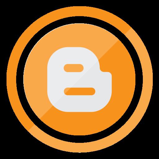 blogger, google, logo, media, network, social icon