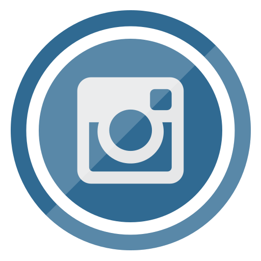 circle, instagram, media, multimedia, social icon