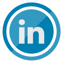 communication, linkedin, logo, media, network, social icon