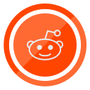 media, network, reddit, social, web icon