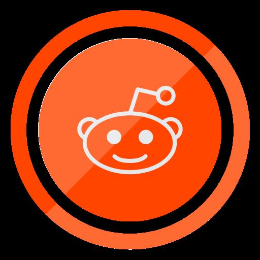 media, network, reddit, social, web icon