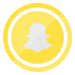 internet, mobile, smartphone, snapchat, technology icon