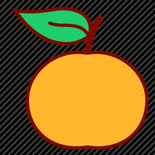 citrus, food, lunar, mandarin, nature icon