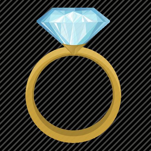 diamond, jewerly, luxury, ring icon