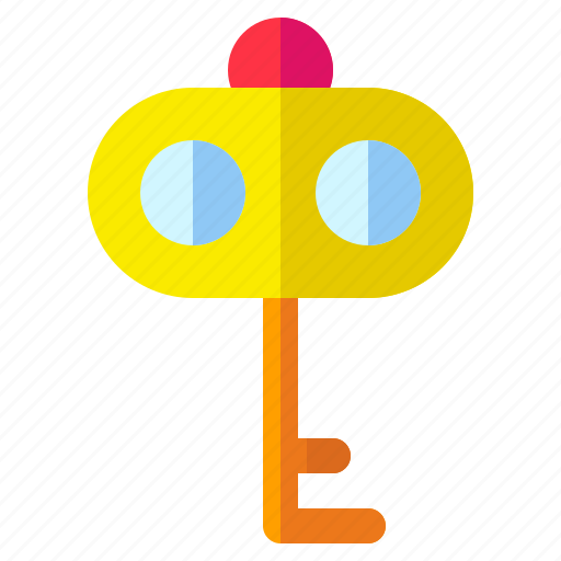 key, lock, security, shield icon