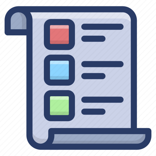 checklist, documents, list, plan list, task list, to do list icon