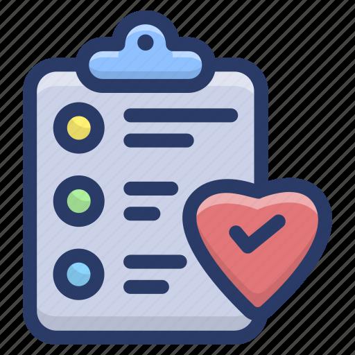 documents, favourite checklist, favourite list, plan list, task list, to do list icon