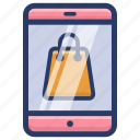 digital shopping, ecommerce, internet shopping, mobile shopping, online shopping icon