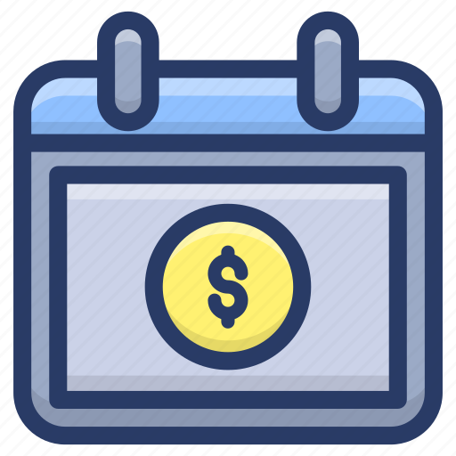 payday, payment agenda, payment plan, payment schedule, salary day icon