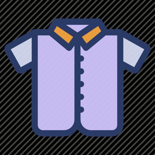 apparel, attire, cloth, male shirt, shirt, shirt design icon