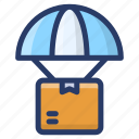 parcel protection, parcel safety, parcel security, product security, secure delivery icon