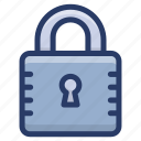 authorization, lock, padlock, protection, secure access, security icon