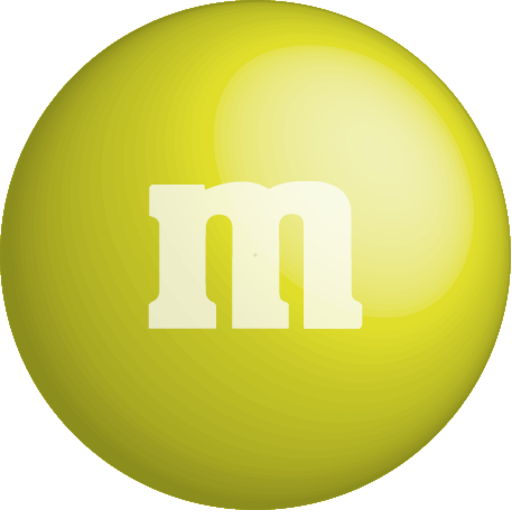 Chocolate, color, colour, m&m, yellow icon | Icon search engine