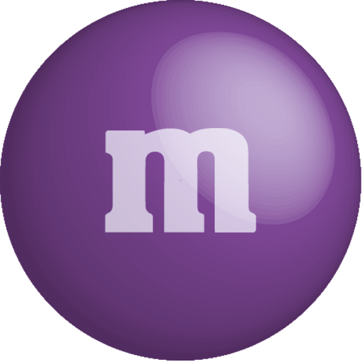 chocolate, color, colour, m&m, purple icon