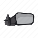 car, part, rearview mirror, spare icon