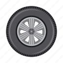auto part, car, disk, part, spare, tire, wheel icon