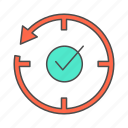 activity, complete, success icon