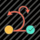 agile, management, project, scrum icon