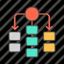 chart, scheme, workflow icon