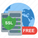 free, protect, server, ssl, web icon
