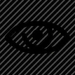 eye, look, organ, vision icon