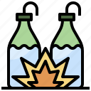 cocktail, fire, incendiary, molotov, terrorism, warfare icon