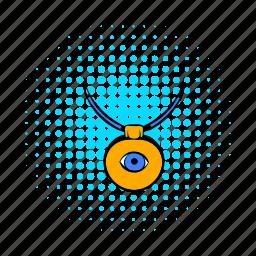 amulet, comics, evil, eye, protection, turkey, turkish icon
