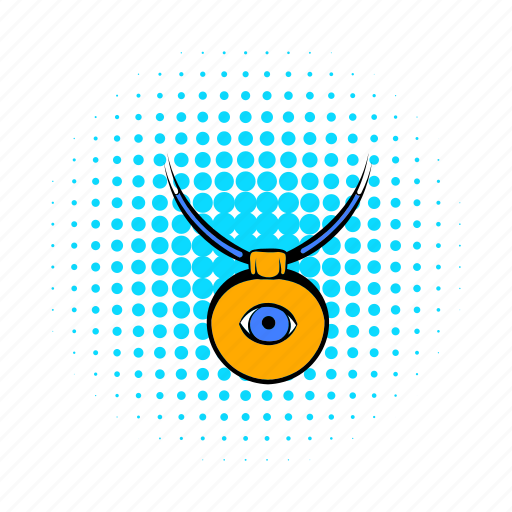 amulet, comics, evil, eye, protection, turkey, turkish icon