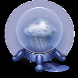 base, magic, orb, rain, socialduo, storm, weather icon