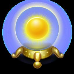 base, magic, orb, sun, sunny, weather icon