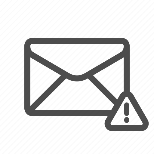 alert, important, mail, warning icon