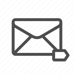 email, label, labelled, mail icon