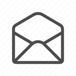 email, empty, envelope, mail icon