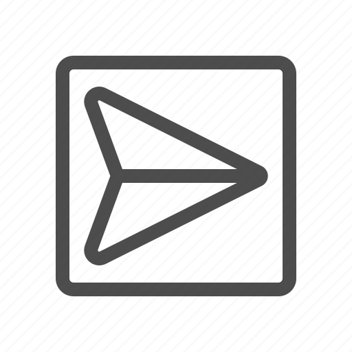 email, mail, outbox, sent icon
